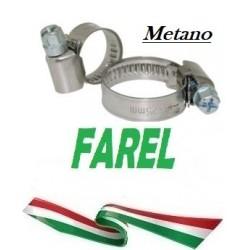 Fascetta per tubo metano 15-25