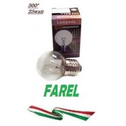 LAMPADA FORNO E27 25W 300°C