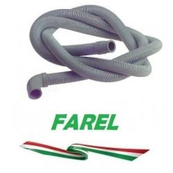 TUBO SCARICO PVC 2.5 con PIPA