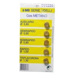Serie ugelli 6mb Metano LA0507