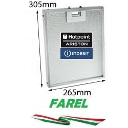 Filtro Cappa Metallico 305x265